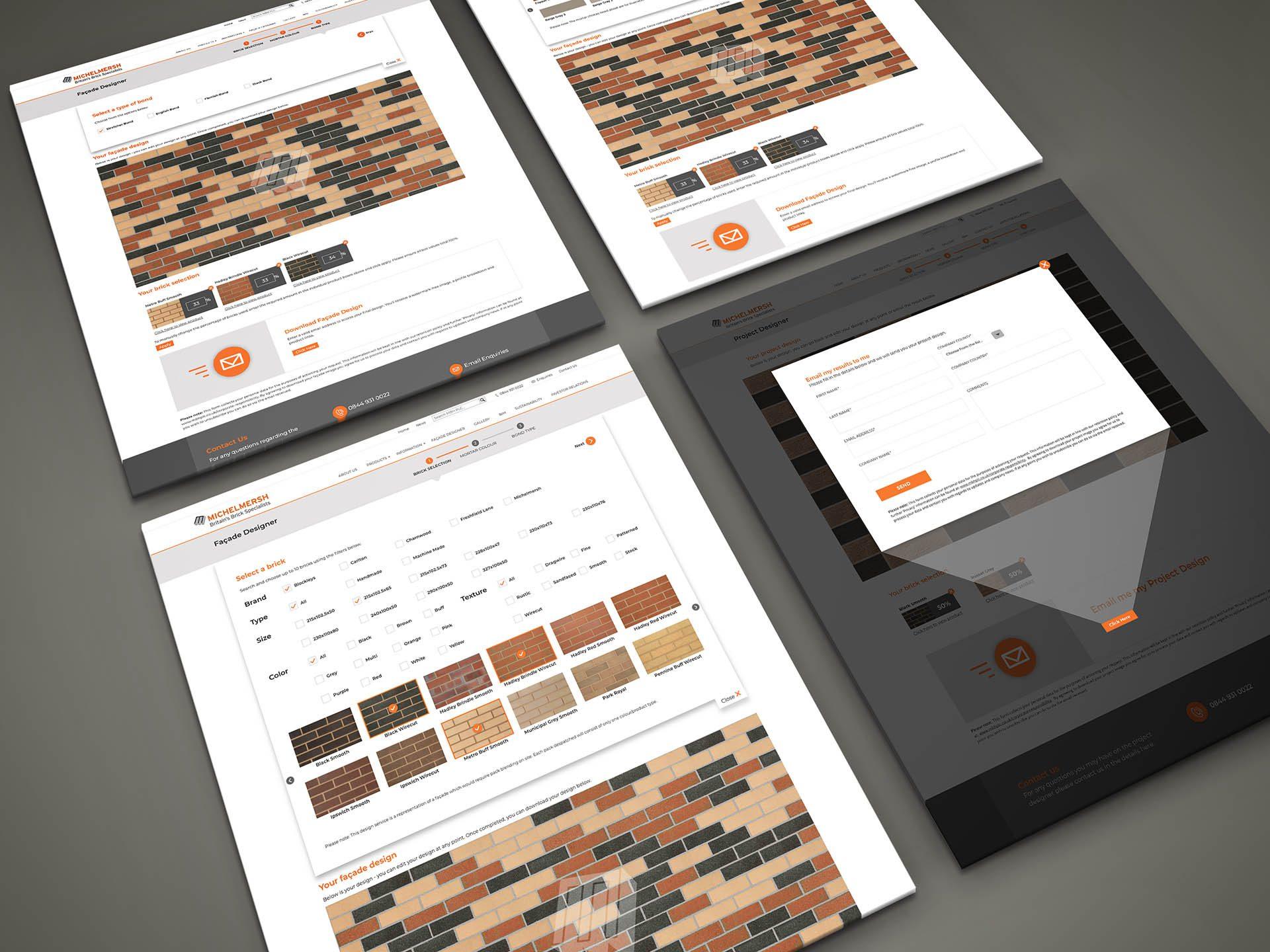 Michelmersh Façade Designer - Designs, Cross Origin